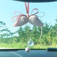 天使翅膀车挂汽车挂件扩香石吊坠车内吊饰装饰挂饰女车载香水