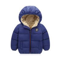 秋冬新款儿童羽绒短男女童中小童加厚连帽棉衣