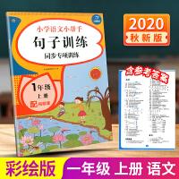 开心教育 小学语文小帮手 句子训练同步专项训练 一年级上册