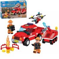 兼容乐拼02054兼容乐高城市消防积木系列云梯消防车拼装玩具男孩