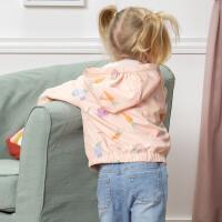 davebella戴维贝拉2020春季新款女童外套宝宝外出防晒服DBZ13337