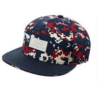 时尚迷彩印花运动帽  帽子女  棒球帽韩版平舌嘻哈帽  男士遮阳帽