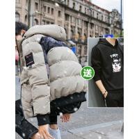 【秋冬新品】高档专柜品牌棉袄男短款学生2019新款青少年韩版潮流面包棉衣外套冬装