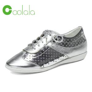 红蜻蜓旗下品牌coolala春季新款时尚休闲透气女鞋HNB7030