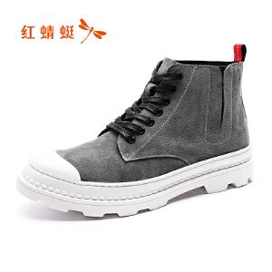红蜻蜓男鞋休闲鞋秋冬鞋子WTD8050