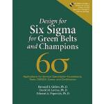 【预订】Design for Six SIGMA for Green Belts and Champions: App