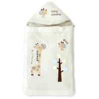 秋冬抱被睡袋两用带拉链 棉春秋冬包被初生婴儿男女宝宝