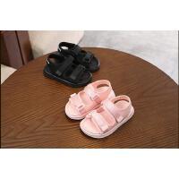 儿童鞋夏季男童沙滩鞋织带女童运动凉鞋