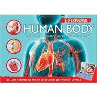 [现货]英文原版3-D Explorer: Human Body立体探索系列:人体构造