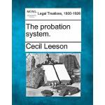 【预订】The Probation System.