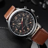 日本机芯防水手表运动休闲新款 男士watch men美格尔福克斯男手表
