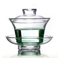 耐热玻璃盖碗功夫茶具 玻璃茶具 玻璃杯