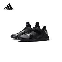 【到手价:317.4元】阿迪达斯(adidas)儿童鞋新款运动鞋大童漫威蜘蛛侠男女童松紧带跑步鞋AH2451 黑色