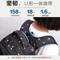 卡拉羊中�W生��包青年�n版初中生背包小�W生女大容量高中生�p肩包