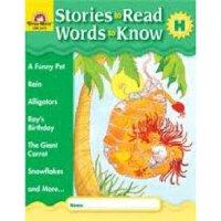 现货 Stories to Read, Words to Know LEVEL H WITH CD