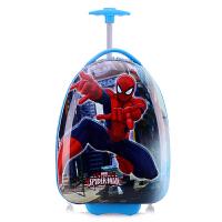 拉杆箱卡通男女童小孩行李箱学生旅行宝宝拖拉箱18寸16寸 蜘蛛侠 16寸-儿童行李箱拉杆箱