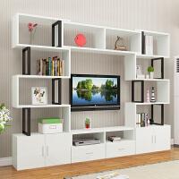 【支持礼品卡】简单主卧可放电视和书的柜子多功能高柜小户型客厅 电视柜组合墙3pj