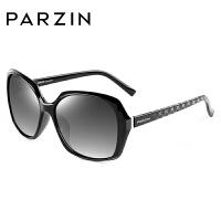 帕森新款偏光太阳镜 潮女士大框圆脸司机开车墨镜驾驶镜9501