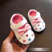 0-1-2岁半女宝宝学步鞋软底单鞋女童皮鞋6-12个月春秋婴儿公主鞋