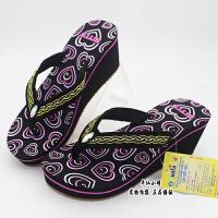 一双包快新款越南鞋平仙鞋女人字拖中跟休闲拖鞋舒适