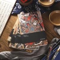 晨光(M&G)大英博物馆包脊本 空白手账本水浒传英雄32K学生笔记本