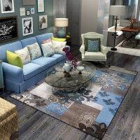客厅地毯卧室房间床边美式现代简约沙发威尔顿长方形茶几毯Y