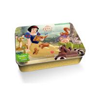 白雪公主・小矮人之家/迪士尼卡通全明星铁盒拼图书,美国迪士尼 著,天地出版社,9787545539714
