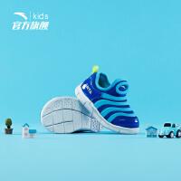 安踏儿童毛毛虫童鞋宝宝鞋子儿童秋季2019新款软底运动鞋学步鞋