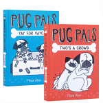 学乐 耶!为了度假帕格兄弟2本套装 Two's A Crowd Yay for Vaycay! Pug Pals 1-
