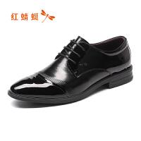 红蜻蜓男鞋商务皮鞋正装鞋子男WTA74121