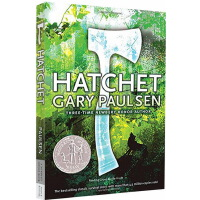 【78�x3】手斧男孩英文原版小�f HATCHET �w瑞・伯森 Gary Paulsen �~伯瑞�� �和�文�W故事�钪久半U小