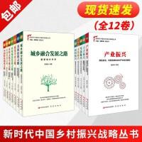 """新时代中国乡村振兴战略丛书(全12卷):""""五个振兴""""+""""七条道路"""""""
