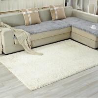 可定做雪尼尔地毯卧室客厅茶几简约现代家用吸尘床边铺满防滑地垫k
