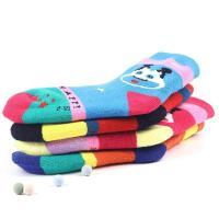 儿童袜子秋冬季加厚保暖男童女童1-3-7-9-12岁婴儿宝宝毛圈袜