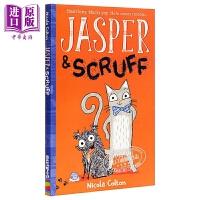 【中商原版】Jasper and Scruff 猫狗之家1 儿童初级章节书故事书 平装 英文原版 5-8岁