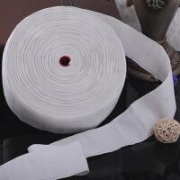 窗帘配件辅料挂钩白布带加厚加密穿孔布头防晒布带窗帘布袋k