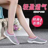 老北京布鞋网鞋女鞋夏季透气女鞋网眼运动休闲鞋女妈妈鞋女士单鞋