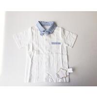 【专区59元3件】加菲宝贝 GAFFEY KITTY 儿童夏装新款POLO衫T恤 GKA3035