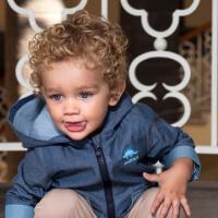 davebella戴维贝拉儿童恐龙外套2020春新款男宝宝上衣DBX12614-1