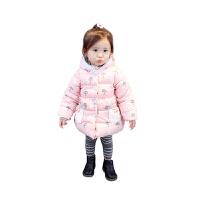 女宝宝冬装加厚棉衣 0一1-2-3岁女童儿童外套婴儿公主小棉袄