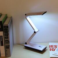 LED触摸调光护眼学习折叠充电台灯工作阅读床头宿舍阅读3979