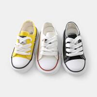 婴儿帆布鞋子男童学步鞋休闲鞋童鞋儿童板鞋小童