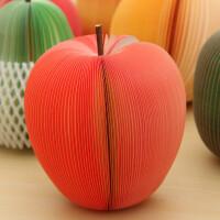创意苹果梨子水果造型便签纸 便签条梨子便利本学生可爱小礼物