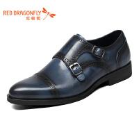 红蜻蜓男鞋商务皮鞋正装鞋子男WZA6130