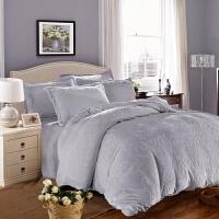 双面加厚法兰绒四件套 保暖 纯色素色床单/床笠款珊瑚绒四件套y