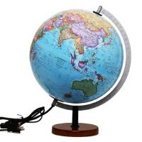 30cm中英文政区立体地球仪(LED灯光型)-163002 北京博目地图制品有限公司 9787503033476