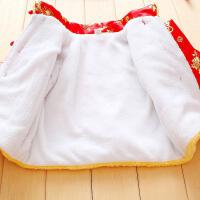 周岁一男童二拜年婴儿套装1到2岁半冬装唐装3宝宝女孩服小孩