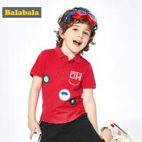 巴拉巴拉童装男童POLO衫短袖儿童t恤2019新款夏装宝宝上衣洋气潮