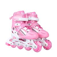 3-4-5-6-7-8-10岁溜冰鞋儿童全套装男女童排轮滑鞋冰鞋