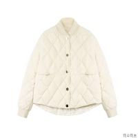 轻薄羽绒服女2018新款秋冬装压缩白鸭绒小个子短款羽绒衣韩版外套 白色